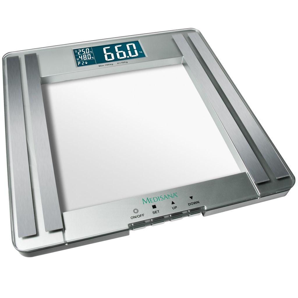 uvijek ćete znati točne tjelesne mjere!Maksimalni kapacitet od 180 kg i 4 precizna senzora