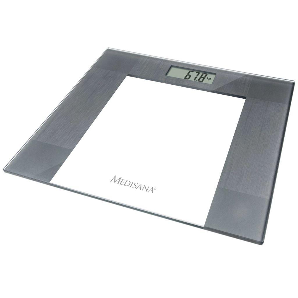 Ova Medisana staklena osobna vaga PS 400 je moderna vaga koja Vas obavještava o vašoj težini.Zahvaljujući osjetljivosti na usponu