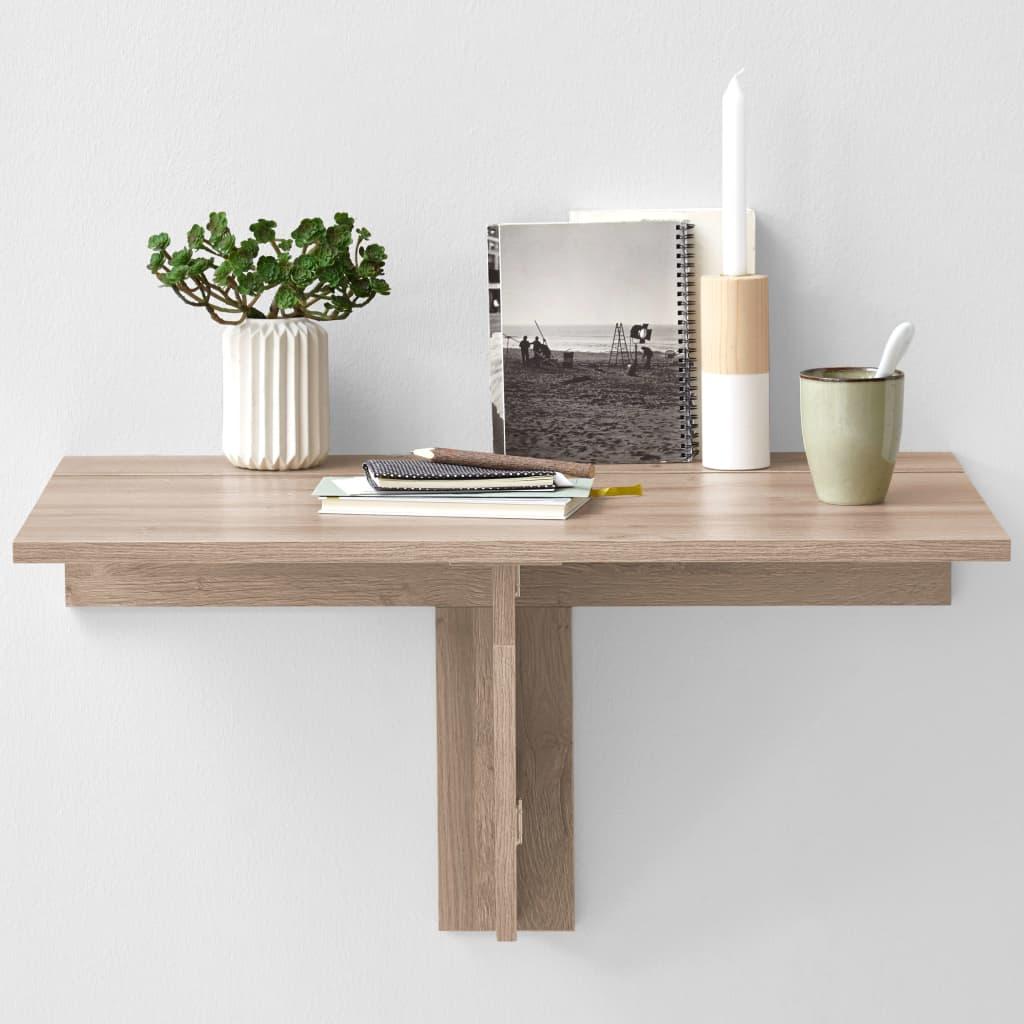 Zidni sklopivi stol marke FMD vrlo je praktičan i štedi prostor. Bit će idealan za manje kuhinje