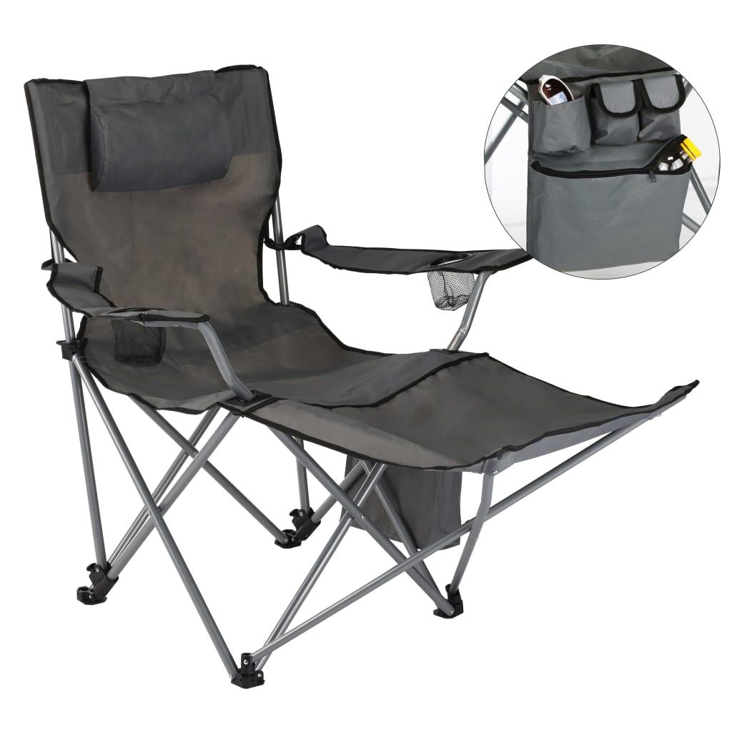 udobna je sklopiva stolica koja će biti idealna za odlazak na kampiranje ili pecanje