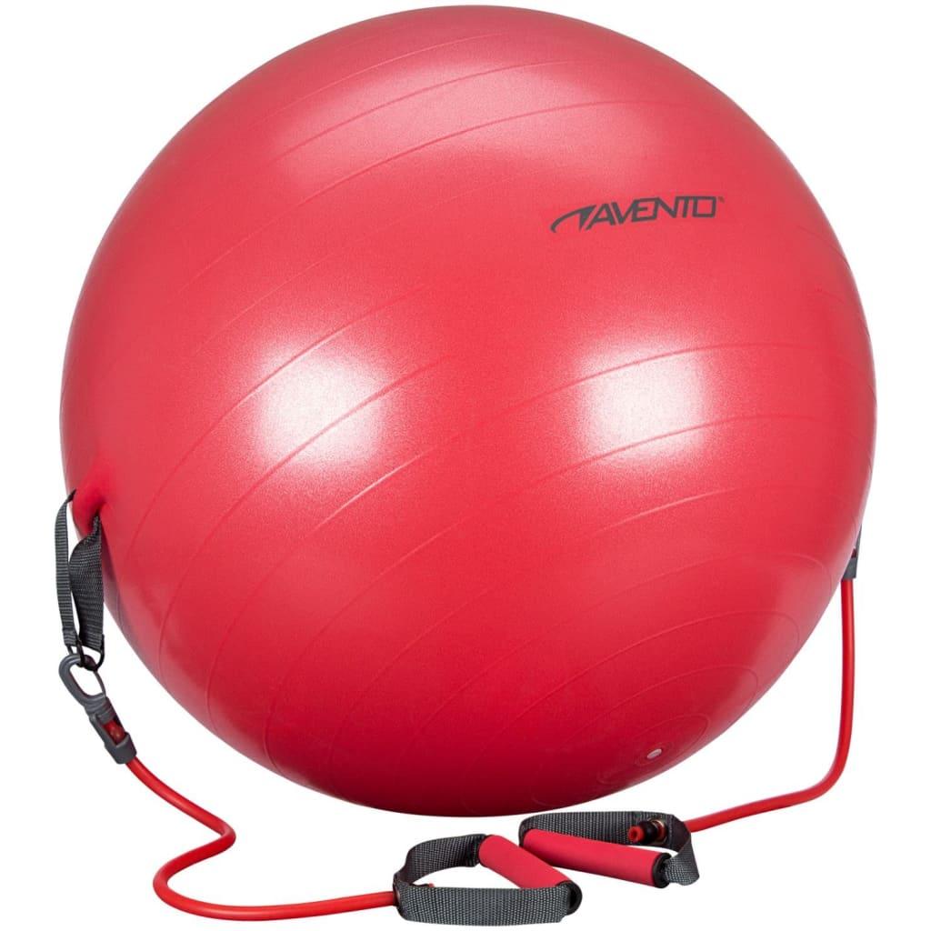 Lopta za vježbanje Avento s podesivim trakama za otpor bit će odličan izbor za trbušnjake
