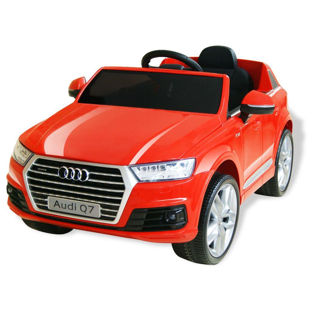 Ovaj luksuzni Audi Q7 dječji električni automobil s jedinstvenim i inovativnim dizajnom omogućit će djeci puno iskustvo vožnje vrhunskog SUV-a. Pod licencom Audi-a