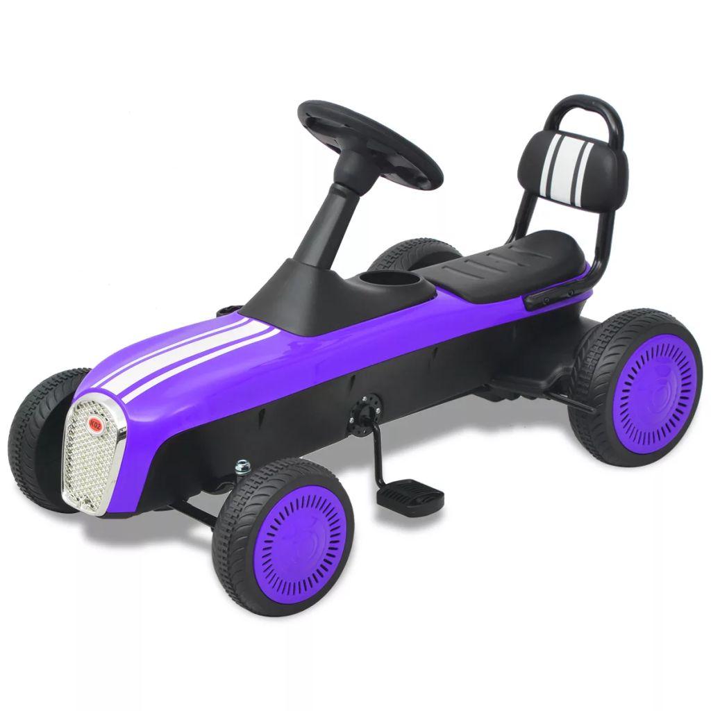 Vaša će se djeca jako zabavljati vozeći okolo ovaj go-kart s pedalama. Zahvaljujući sjedalu s naslonom