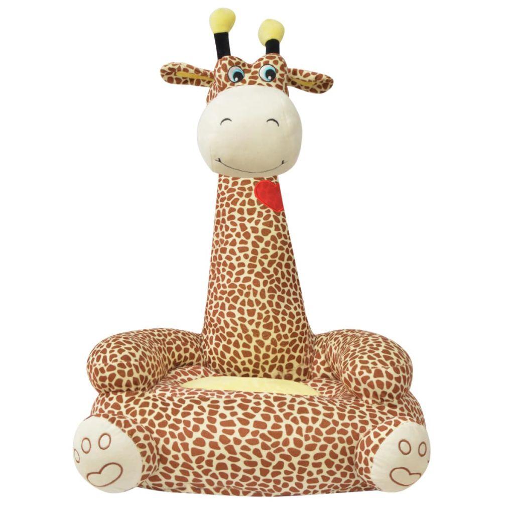 čitati ili opuštati. Sa svojim neodoljivim oblikom žirafe bit će sjajan dodatak bilo kojoj dječjoj igraonici ili spavaćoj sobi. Izrađena od visokokvalitetnog pliša s mekim punjenjem