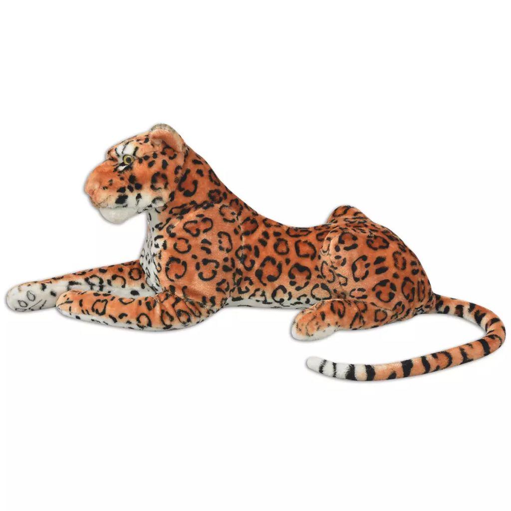 XXL plišanom igračkom leoparda sa životolikim detaljima i impresivnim izgledom! Leopard može biti idealan pratilac ili divan