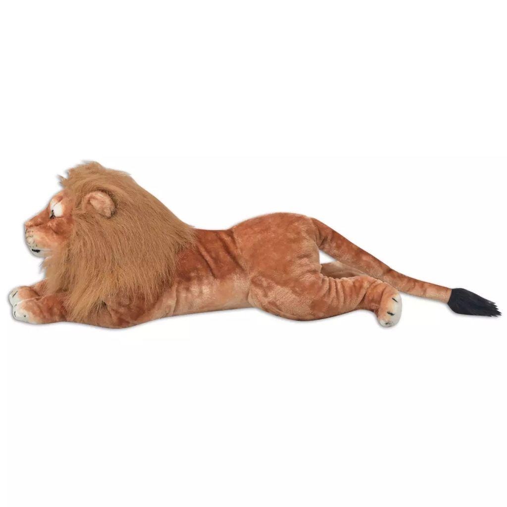 XXL plišanom igračkom lava s životolikim detaljima i impresivnim izgledom! Lav može biti idealan kompanion ili divan