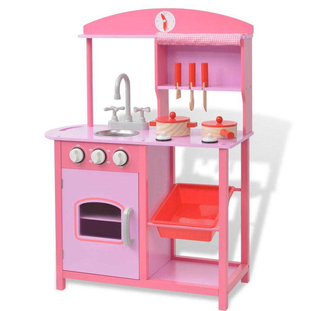 Vaša djeca će uživati satima u maštovitoj igri s ovom zabavnom i dugotrajnom kuhinjom! Ova ljupka i jednostavna za sastavljanje kuhinja za igranje