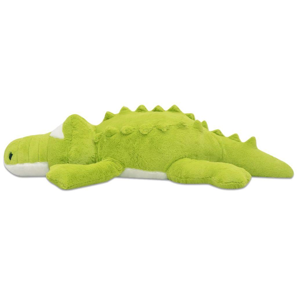 XXL plišanom igračkom krokodila s životolikim detaljima i impresivnim izgledom! Krokodil može biti idealan kompanion ili divan