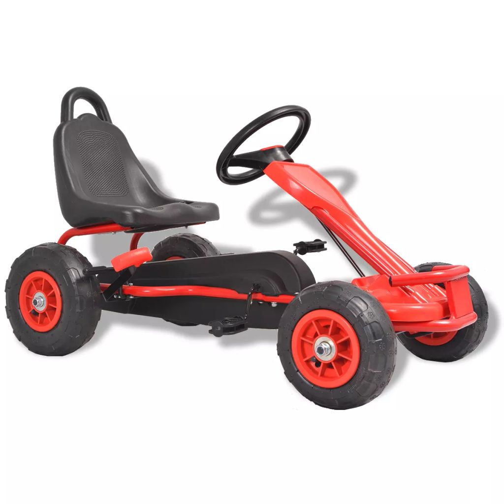 Vaša će se djeca jako zabavljati vozeći okolo ovaj go-kart s pedalama modernog dizajna