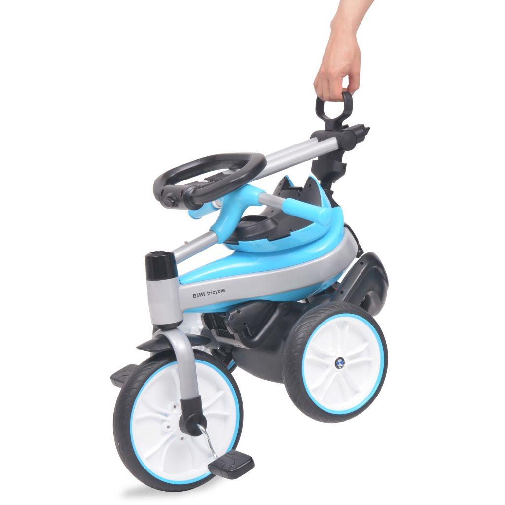 udobnost i zabavu te je savršen izbor za malu djecu. Dječji tricikl ima odvojivi krov i šipku za guranje koja je podesiva po visini u 5 položaja