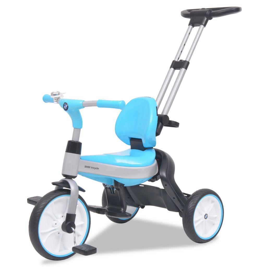 odvojivi štitnik i pedalu za kočenje za dodatnu sigurnost. Tricikl se može potpuno sklopiti radi lakšeg prenošenja. Logotip i oznaka BMW zaštitni su znakovi tvrtke BMW AG i upotrebljavaju se pod licencijom. Budući da je ovaj proizvod pod licencijom BMW-a
