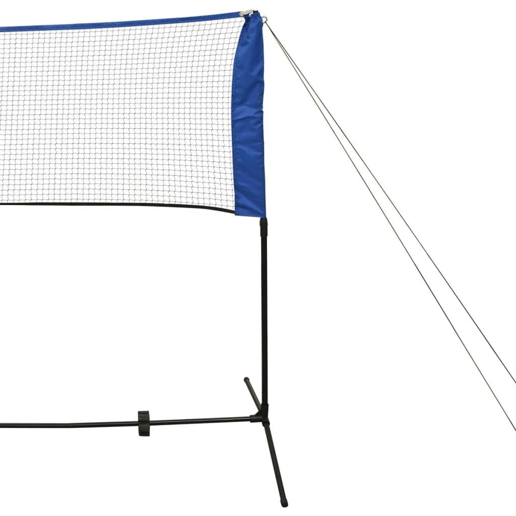 tenis i sve druge igre s loptom koje zahtijevaju mrežu. Isporuka uključuje: 1 mrežu za badminton i okvir