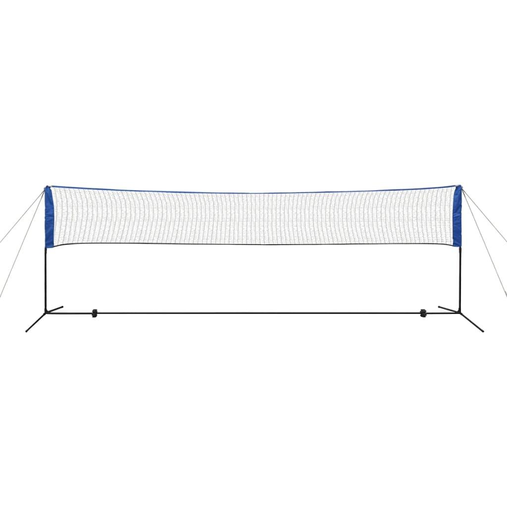 mreža je jednostavna za rastavljanje i možete je uredno pohraniti u prijenosnu torbu zajedno sa svim drugim dodacima. Mreža ima dvostruke šavove za veću čvrstoću. Okvir ima podesivu visinu te je izrađen od izdržljivih i laganih čeličnih cijevi za lakši transport. Ovaj set je pogodan za badminton