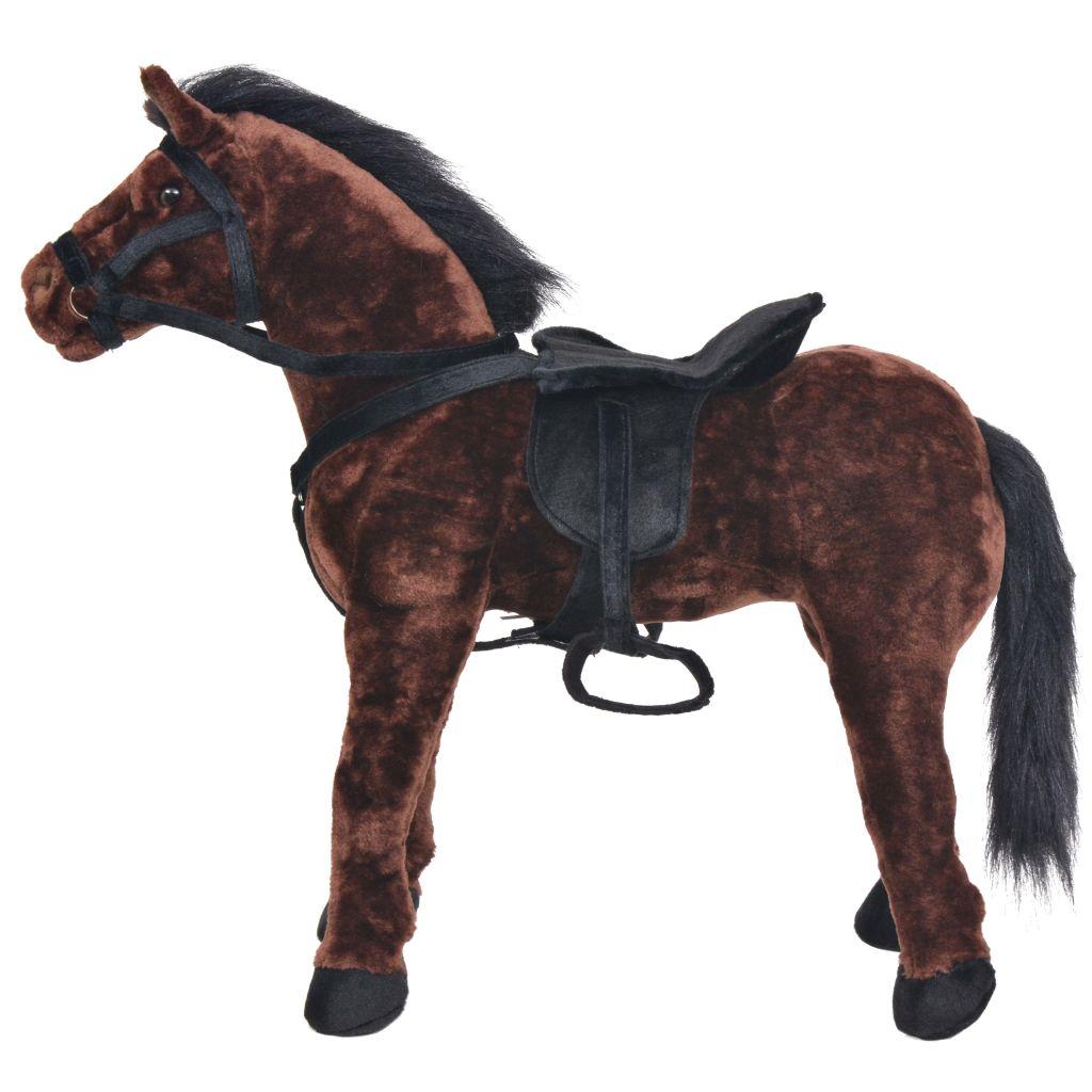 a funkcija zvuka čini jahanje još realističnijim i zabavnijim. Naš plišani konjić postat će najbolji prijatelj svakog djeteta! Molimo imajte na umu da su potrebne 2 AA baterije koje nisu uključene u isporuku.