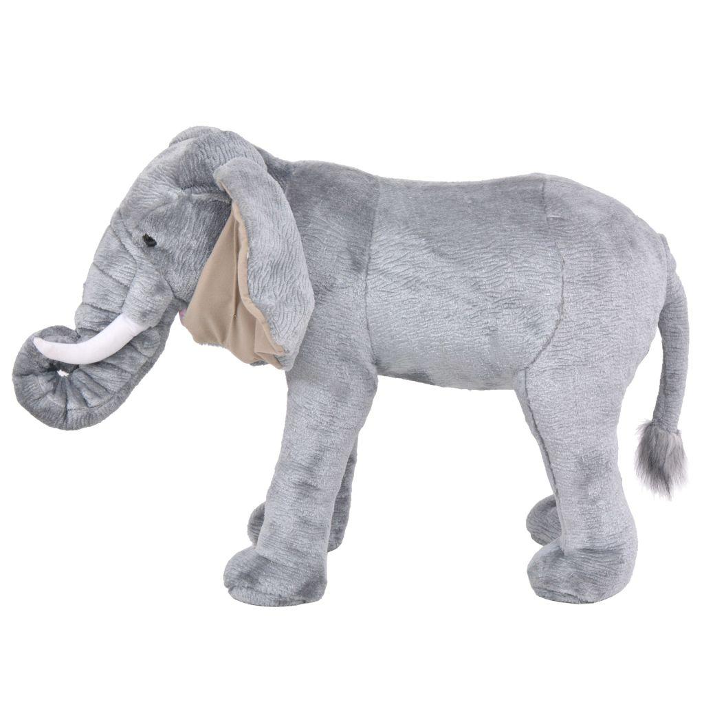 tako da se može upotrebljavati kao sjedeća igračka ili stolica. Naš plišani slon postat će najbolji prijatelj svakog djeteta!
