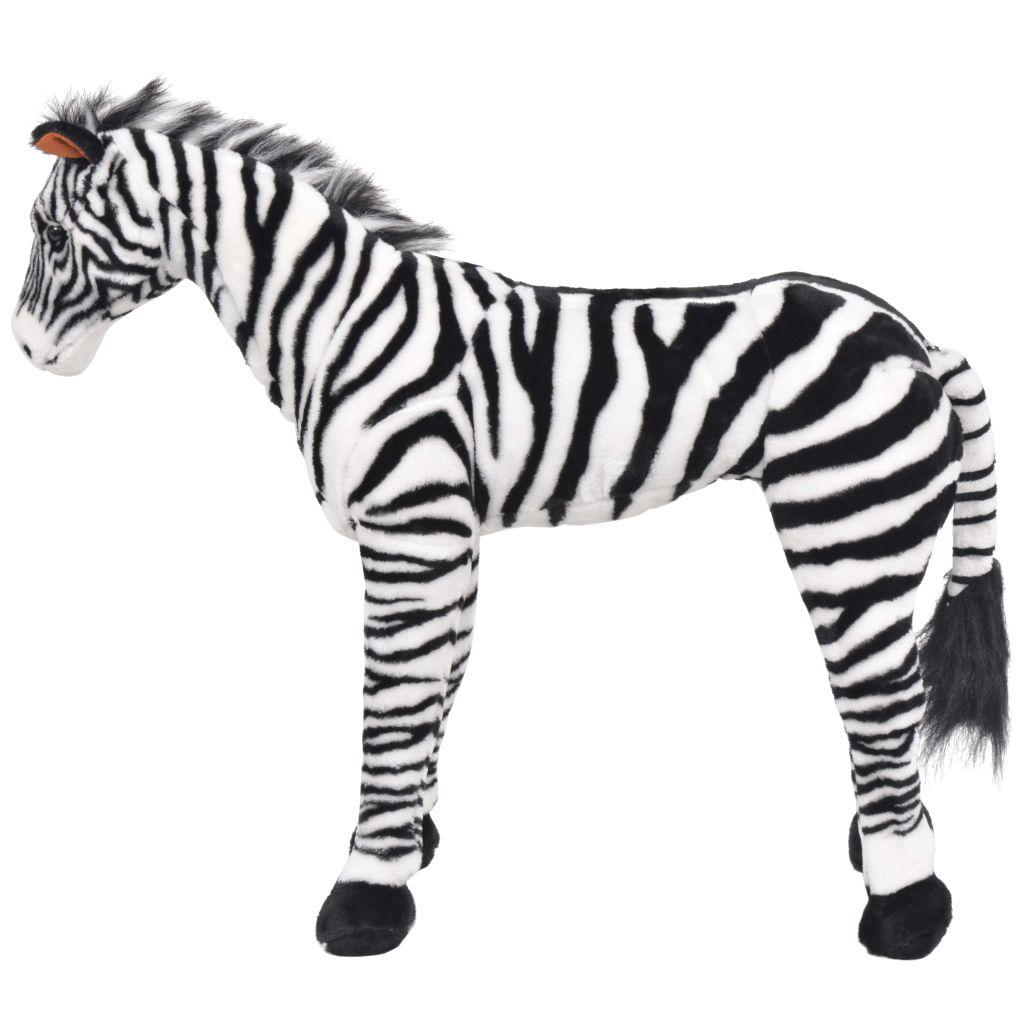 tako da se može upotrebljavati kao sjedeća igračka ili stolica. Naša plišana zebra bit će sjajan prijatelj svakom djetetu!