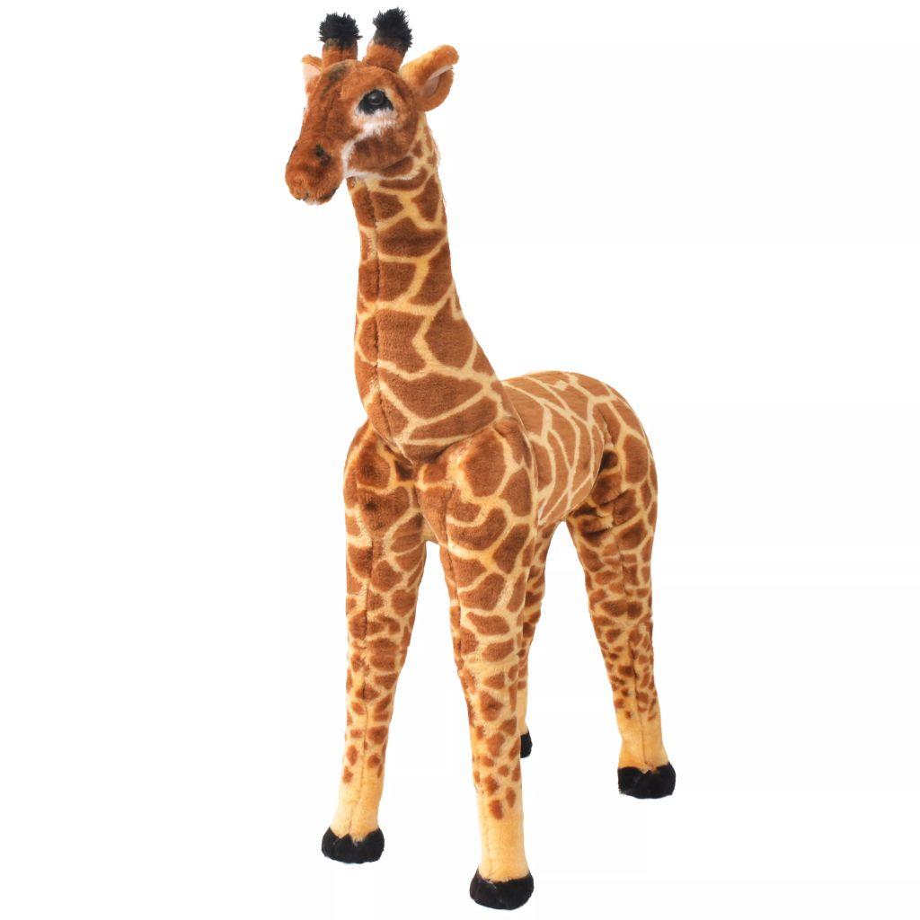 Vrijeme za igru bit će puno zabavnije s ovom vjerodostojnom mekanom žirafom igračkom! Ova mekana i mazna igračka žirafa s detaljnim karakteristikama sastoji se od čvrstog čeličnog okvira i visokokvalitetne plišane tkanine. Igračka ima nosivost do 100 kg