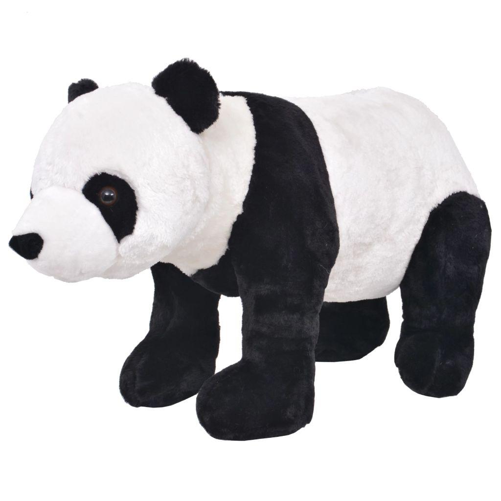 Vrijeme za igru vašem djetetu bit će puno zabavnije uz ovu vjerodostojnu mekanu igračku pande! Ova mekana i mazna igračka s detaljnim značajkama sastoji se od čvrstog čeličnog okvira i visokokvalitetne plišane tkanine. Igračka ima nosivost do 100 kg