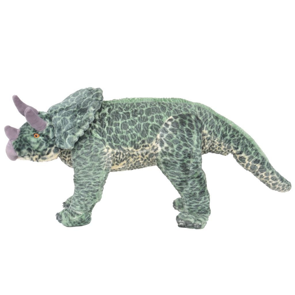 može se koristiti kao sjedeća igračka ili stolica. Naš plišani triceratops postat će najbolji prijatelj svakog djeteta!