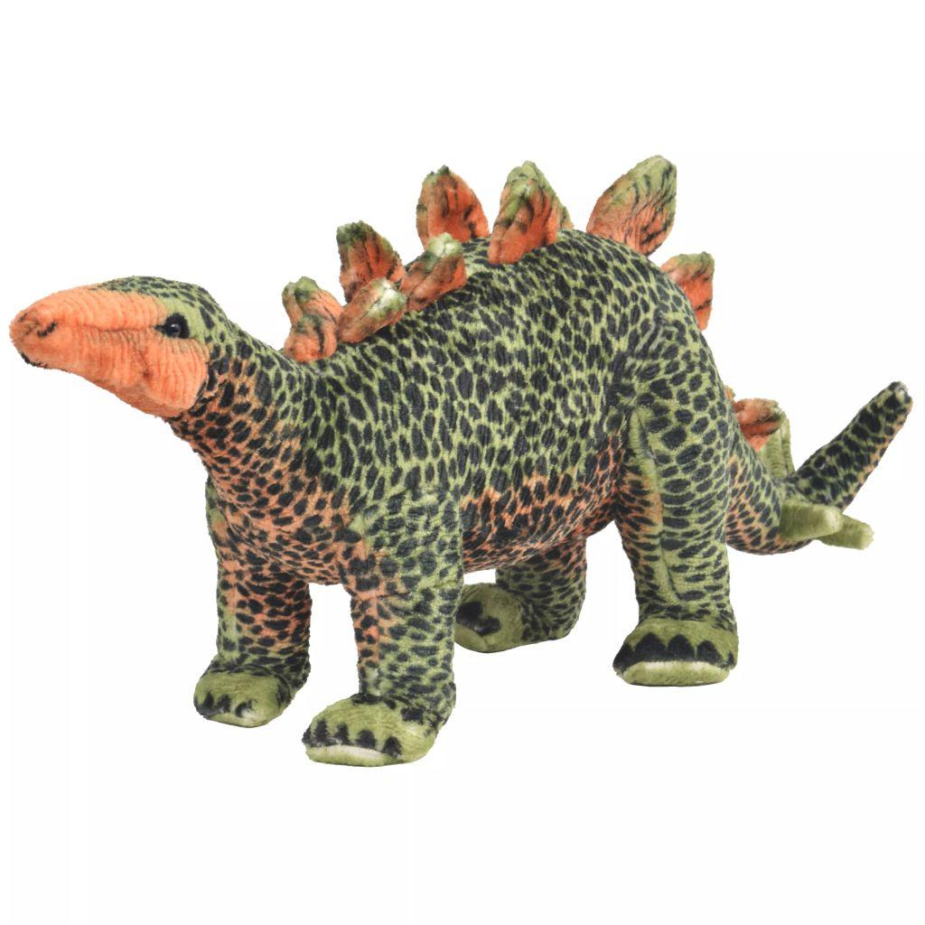 Vrijeme za igru bit će puno zabavnije s ovom vjerodostojnom mekanom igračkom dinosaurom! Ova mekana i mazna igračka s detaljnim značajkama sastoji se od čvrstog čeličnog okvira i visokokvalitetne plišane tkanine. Igračka ima nosivost do 100 kg