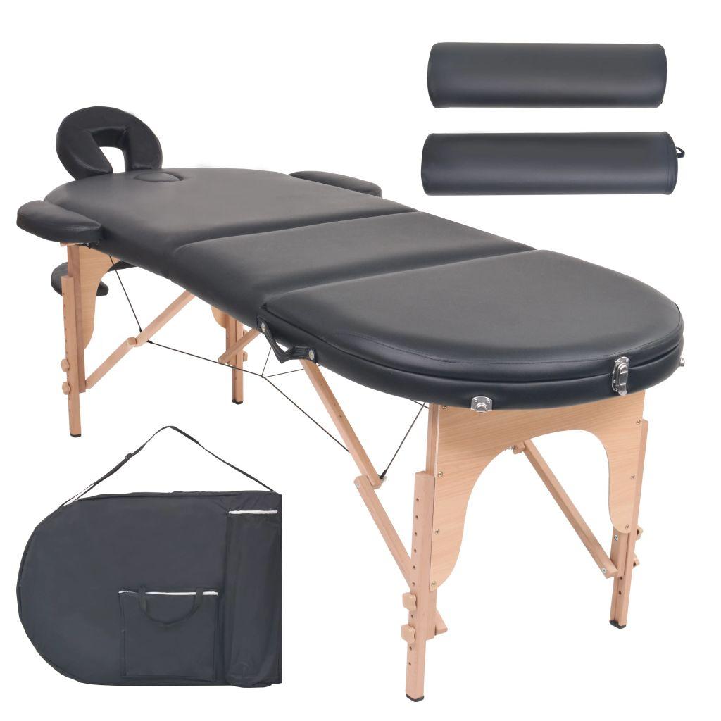 Naš 3-dijelni sklopivi stol za masažu
