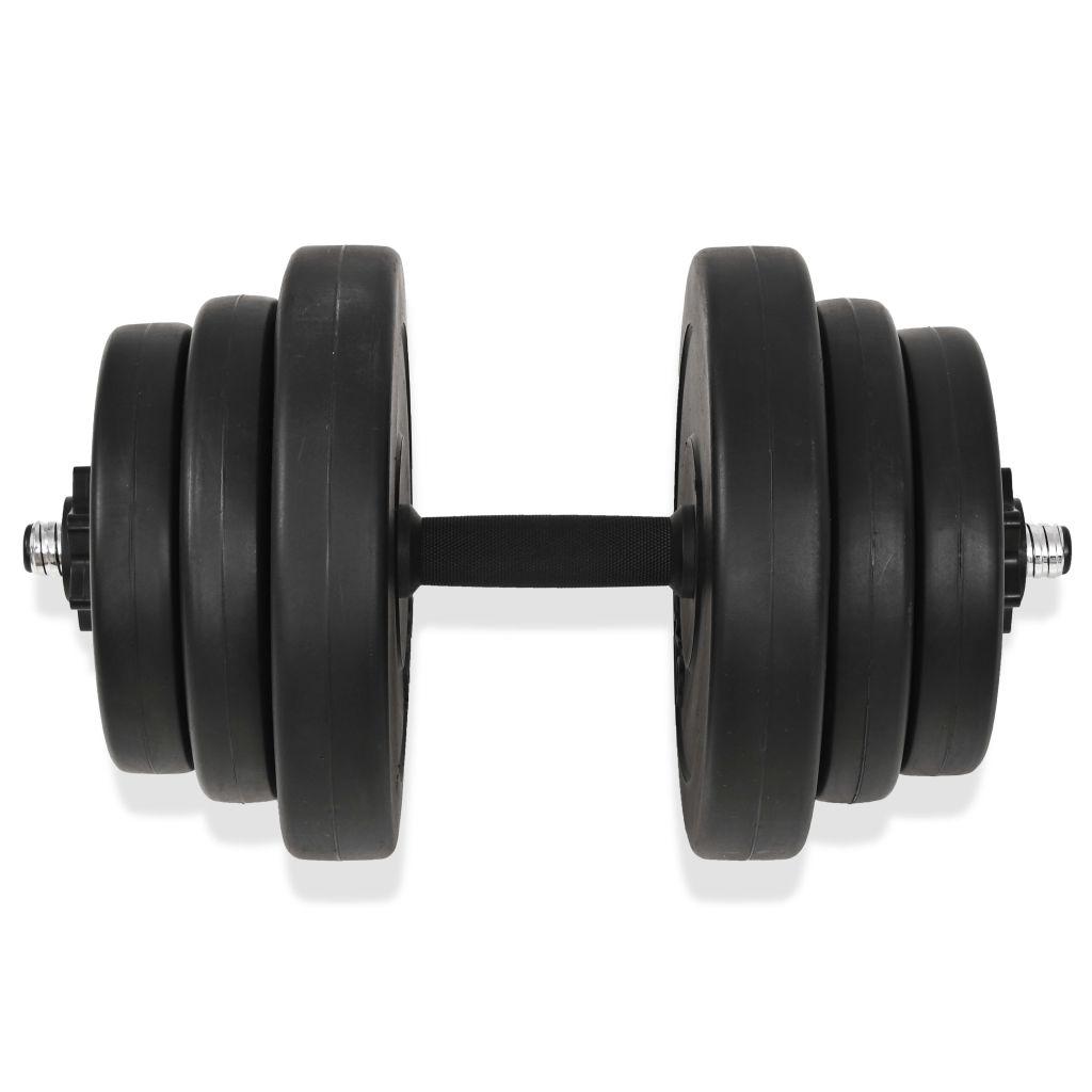 tricepsa i leđnih mišića. Uključuje četiri ploče težine 5 kg