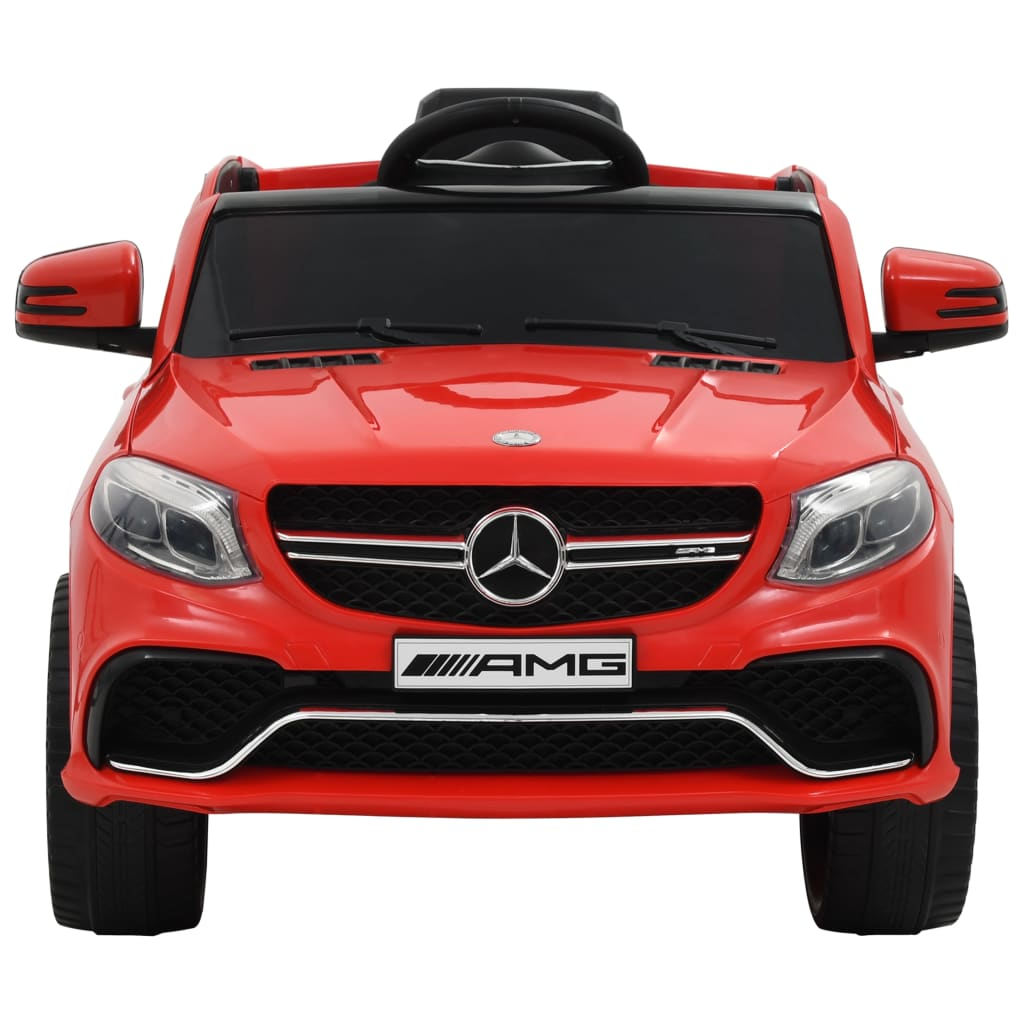 stabilna baza s četiri kotača omogućuje djeci da se lako popnu i siđu sama. Ovaj dječji automobil službeno je licenciran od strane Mercedesa Benza.