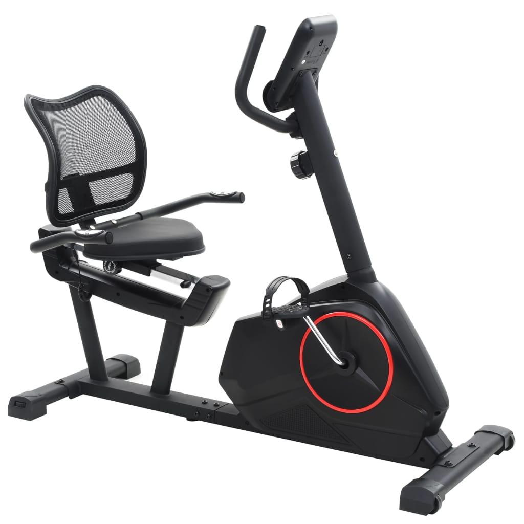 Ovaj čvrsti ležeći bicikl za vježbanje bit će odličan izbor za vježbanje kod kuće. Opremljen zamašnjakom s 8 mogućih razina otpora