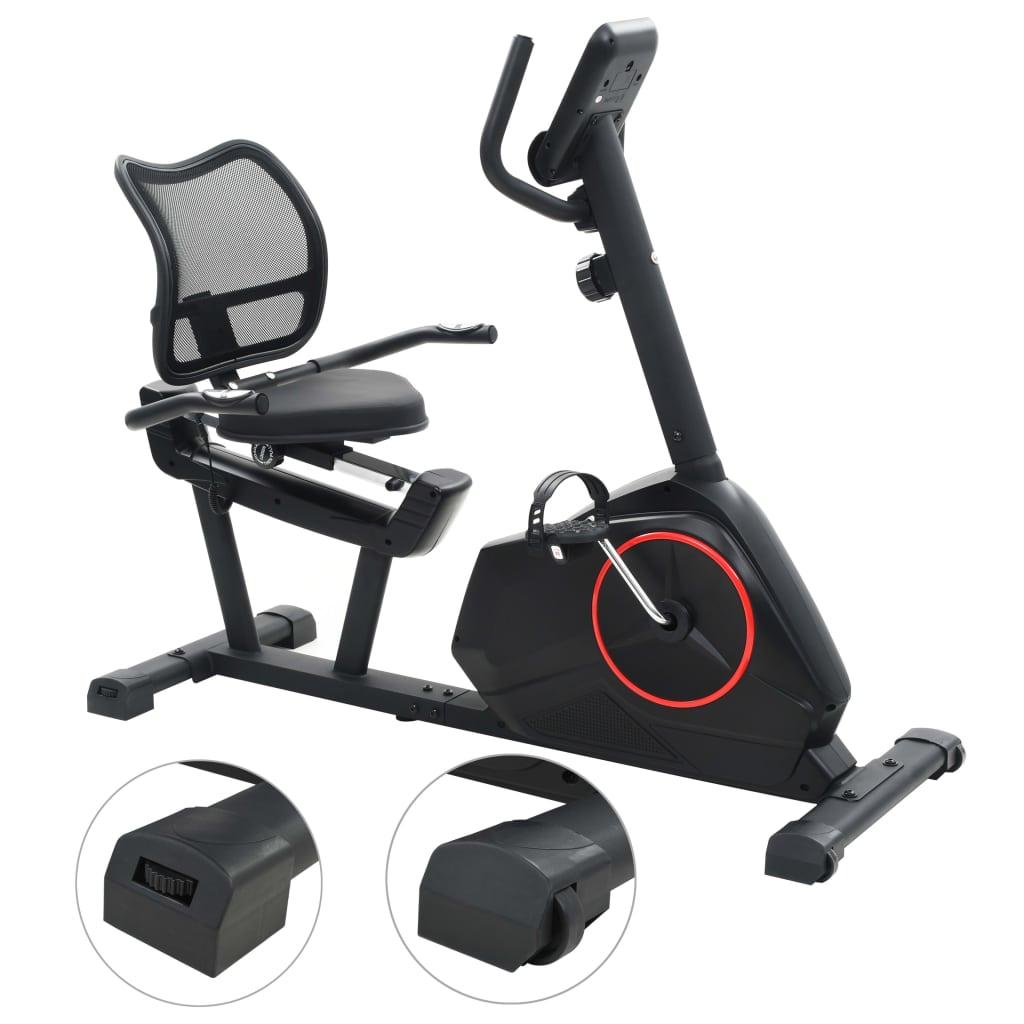 ovaj bicikl omogućit će vam učinkovito vježbanje. Možete pratiti svoju učinkovitost na LCD zaslonu koji prikazuje podatke o proteklom vremenu