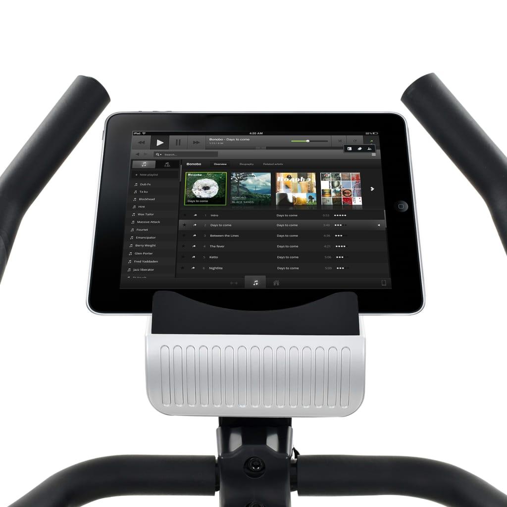 ovaj bicikl omogućit će vam učinkovito vježbanje. Možete pratiti svoju izvedbu na LCD zaslonu koji prikazuje informacije o proteklom vremenu