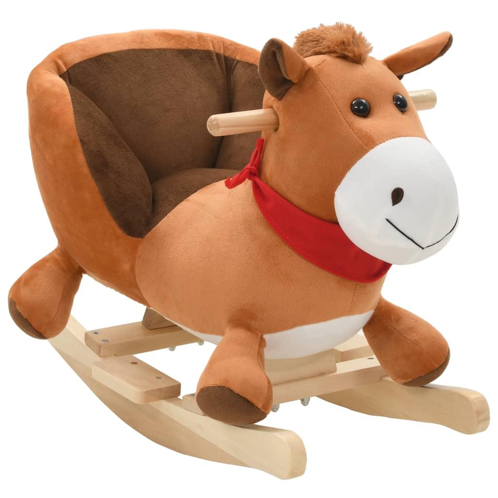 Vaša djeca rado će se igrati s našim slatkim konjićem za ljuljanje! Bit će njihova omiljena igračka i donijet će udobnost i užitak. Životinja za ljuljanje ima snažan metalni okvir