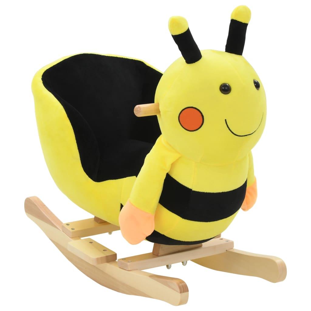 Vaša djeca rado će se igrati s našim slatkim bumbarom za ljuljanje! Bit će njihova omiljena igračka i donijet će udobnost i užitak. Životinja za ljuljanje ima snažan metalni okvir