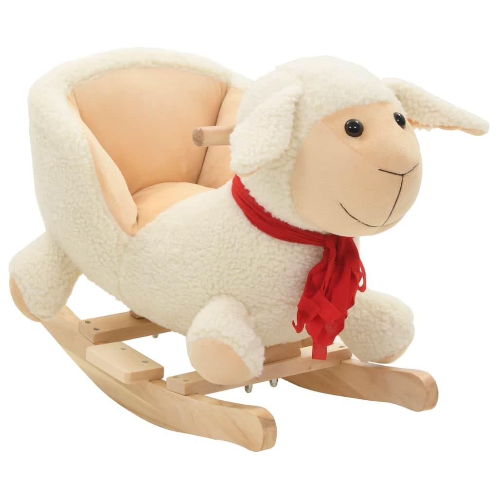 Vaša djeca rado će se igrati s našom slatkom ovčicom za ljuljanje! Bit će njihova omiljena igračka i donijet će udobnost i užitak. Životinja za ljuljanje ima snažan metalni okvir