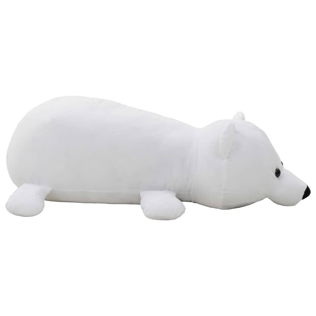 Vrijeme za igru vašem djetetu bit će puno zabavnije uz ovu vjerodostojnu mekanu igračku polarnog medvjeda! Ova mekana i mazna igračka s mekim pamučnim punjenjem ima visokokvalitetni pliš