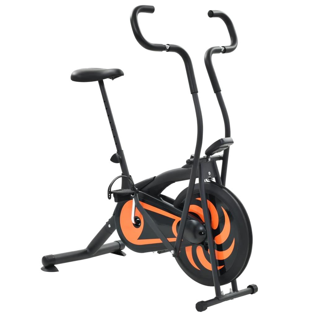 Ovaj zračni bicikl za vježbanje bit će sjajan izbor za vježbanje kod kuće. Opremljen ventilatorom od 46 cm i podesivim sjedalom