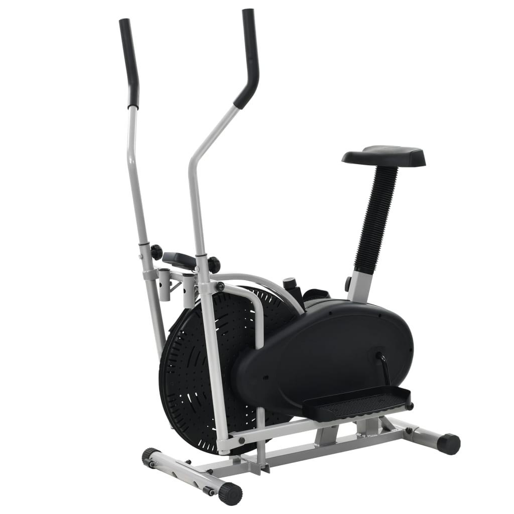 Ovaj čvrsti eliptični trenažer bit će sjajan izbor za vježbanje kod kuće. Opremljen ventilatorom od 50 cm i podesivim sjedalom
