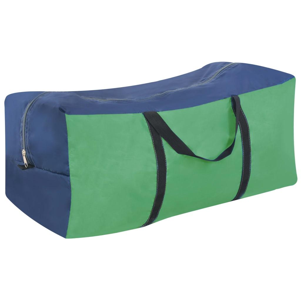 lako se čisti. Vrtni šator može se dobro pričvrstiti za tlo zahvaljujući užadi i klinovima uključenima u isporuku. Imajte na umu da preporučujemo tretiranje šatora vodootpornim sprejom ako bude izložen jakim padalinama.