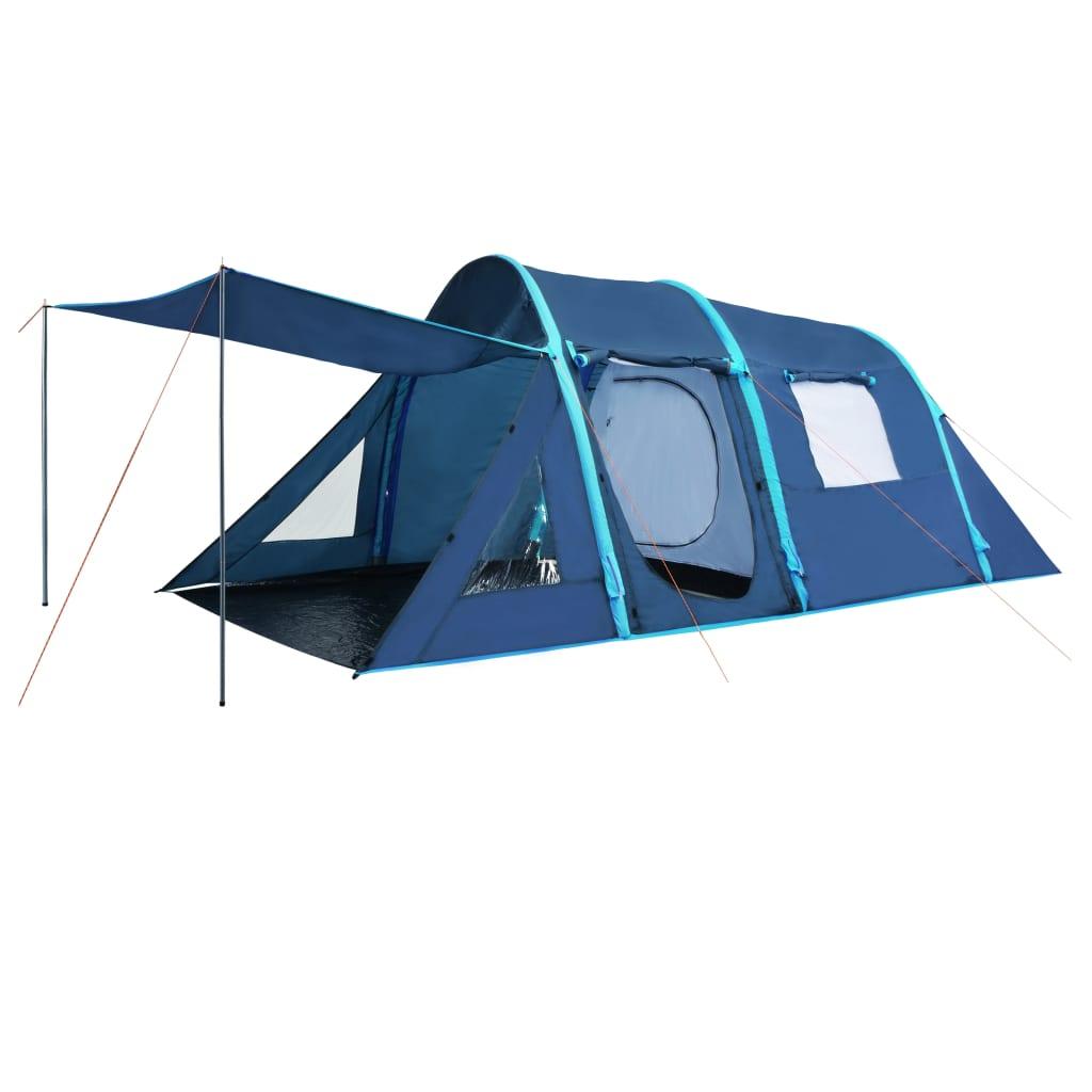 Ovaj šator za kampiranje na napuhavanje savršen je za sve vaše kamperske prigode! Šator je dovoljno je prostran da smjesti najviše 4 osobe. Zahvaljujući gredama na napuhavanje i uključenoj zračnoj crpki