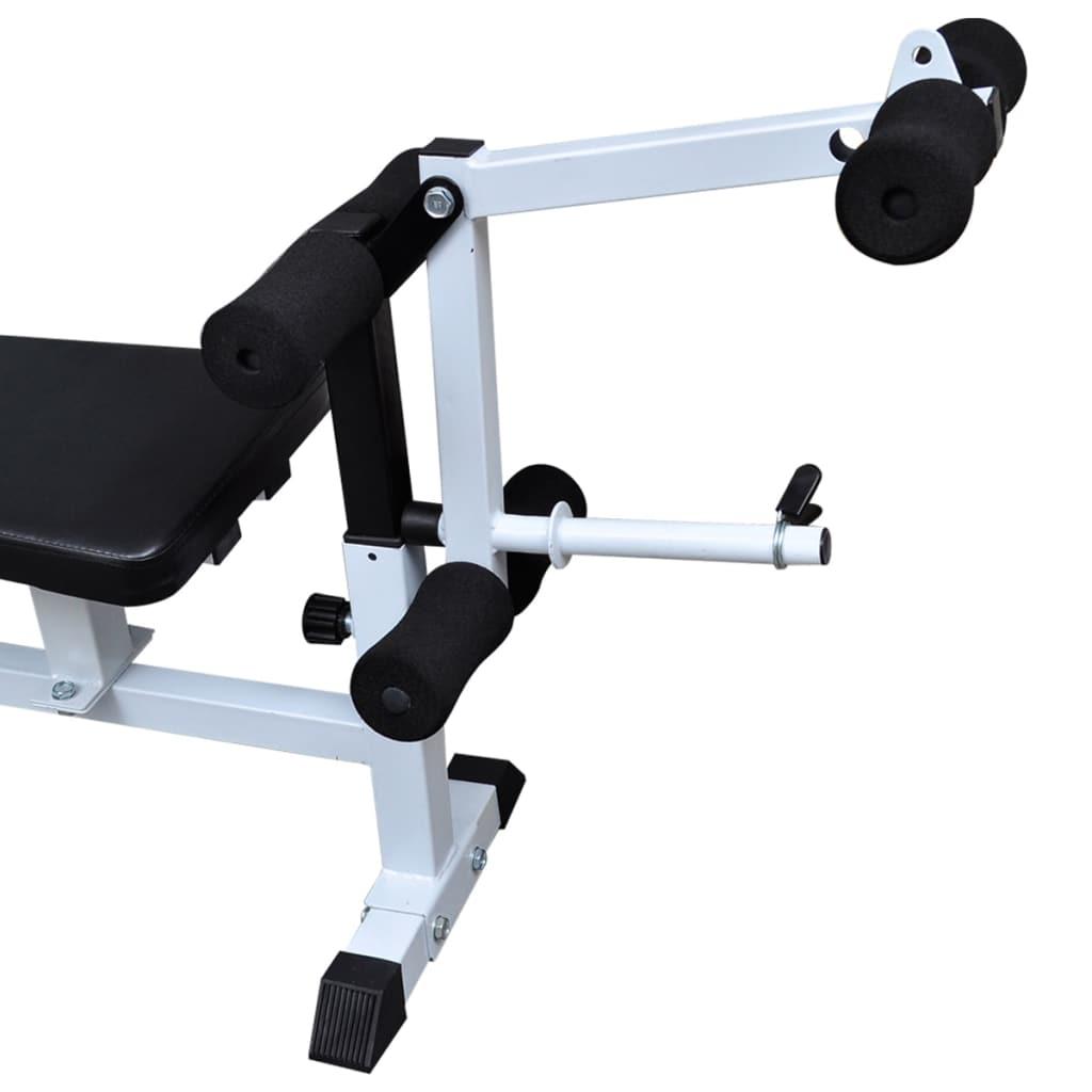 a povlačenje vitla jača cijelu skupinu leđnih mišića. Širok raspon kombinacija za vježbanje i vježbi omogućuje učinkovito vježbanje čitavog tijela
