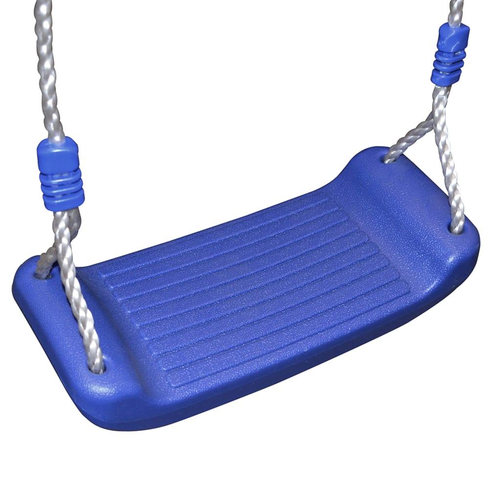 a šarene ručke za držanje pružaju dodatnu sigurnost. Roditelji stoga mogu biti mirni kad im se djeca igraju na igralištu koje je u skladu s najnovijim sigurnosnim standardima. Kućica za igru sastoji se od čvrstog drvenog okvira