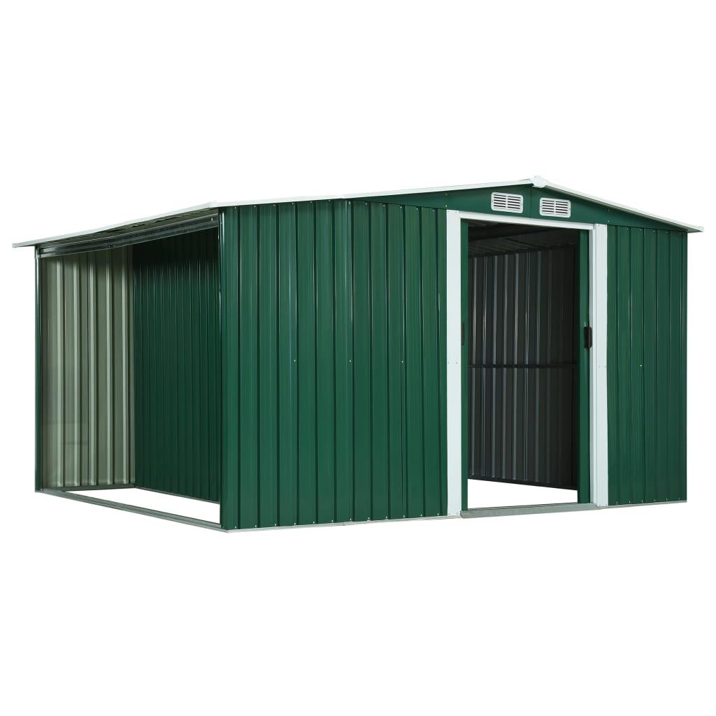kućica za cjepanice čvrsta je i izdržljiva te izgrađena da traje. Vrtnu kućicu za pohranu potrebno je sastaviti.