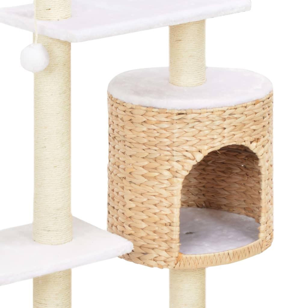 ova penjalica za mačke savršeno će odgovarati svakom uređenju. Penjalica i grebalica za mačke također će pružiti vašim malim prijateljima priliku da se istegnu i vježbaju
