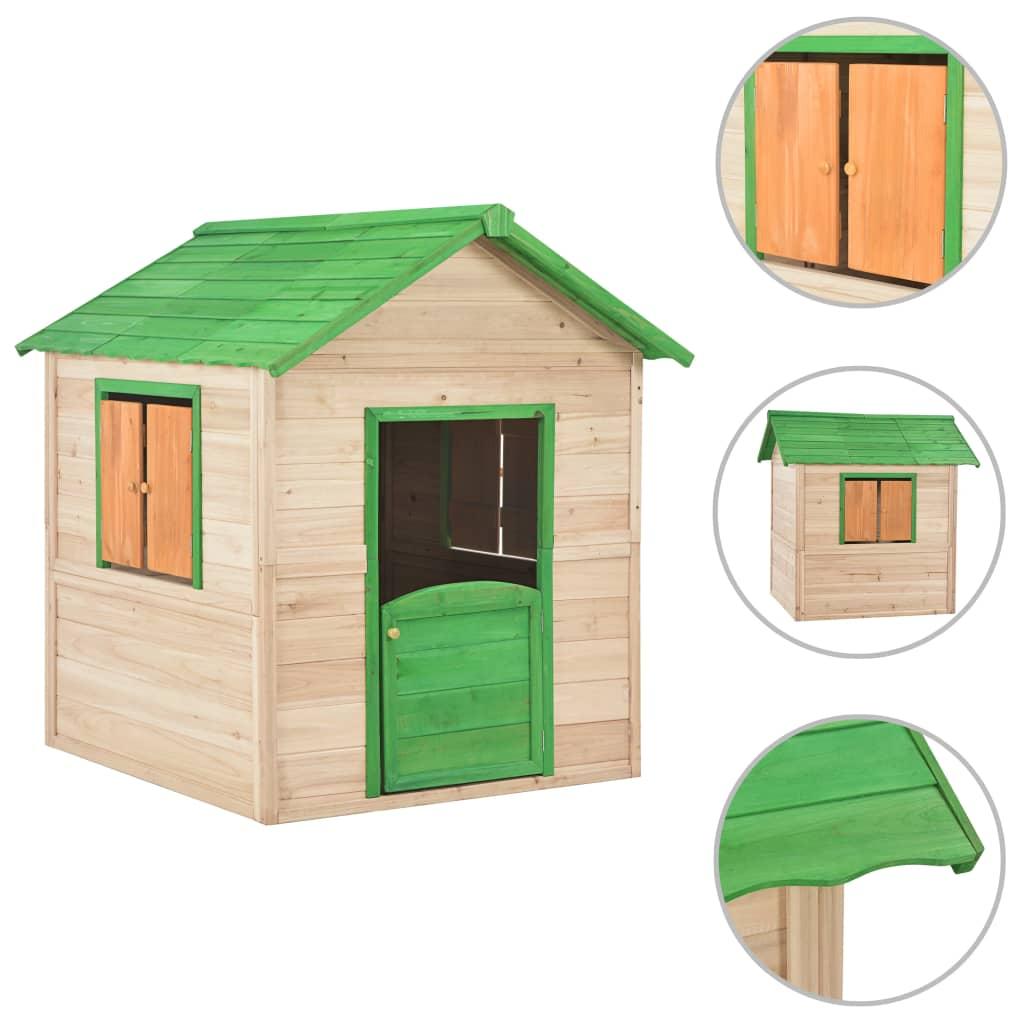 Naša drvena kućica za igru pružit će veliki užitak vašim voljenim mališanima. Vaša će se djeca sigurno zabavljati uz našu kućicu za igru! Naša drvena kućica za igru mjesto je iz snova za vaše mališane