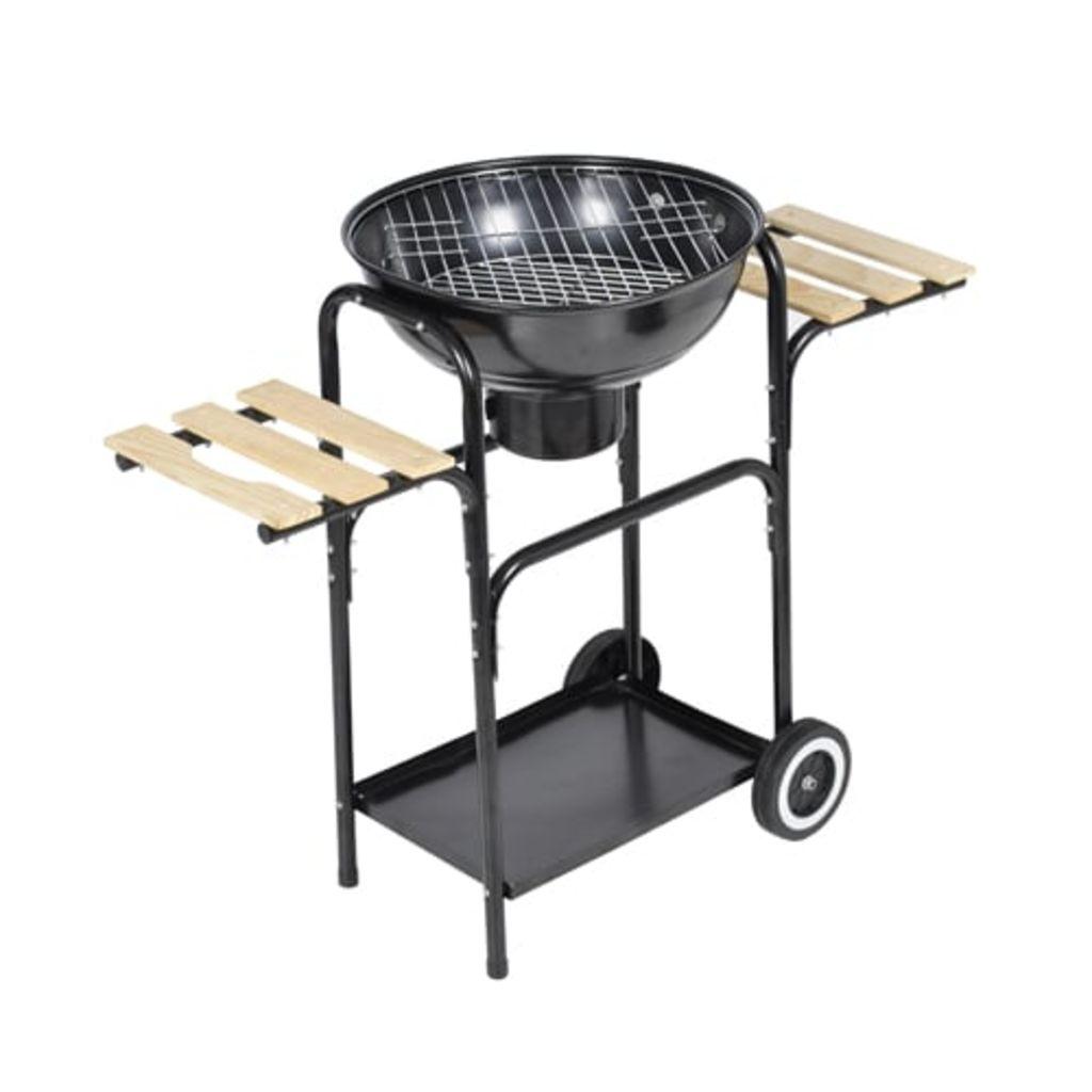 dok dodatne police ispod i pored grila omogućavaju pohranu mesa ili pribora za roštilj.Kako bi roštilj uvijek bio na pravom mjestu