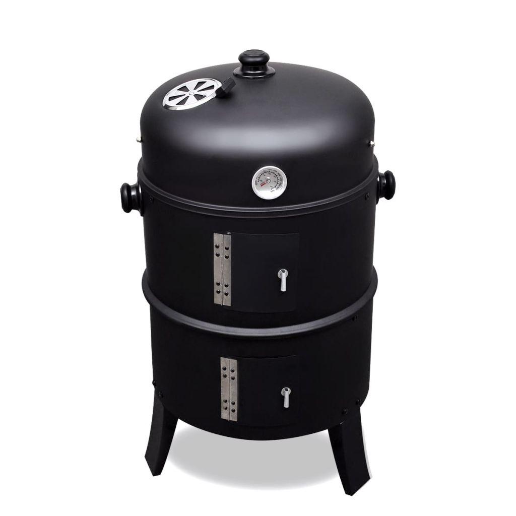 Ovaj rustični roštilj ima različite funkcije. Omogućuje vam roštiljanje