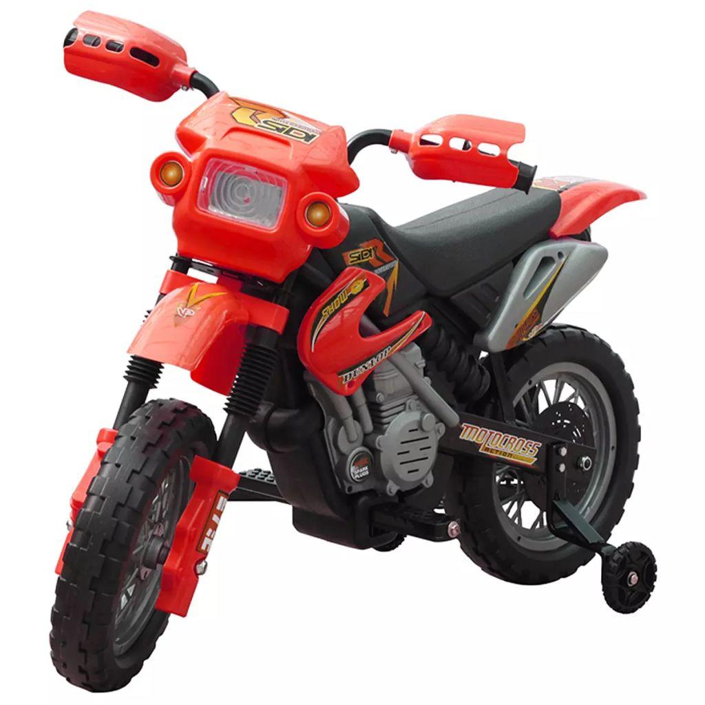 Ovaj je dječji električni motocikl na 2 kotača. Vaši mališani mogu se osjećati kao odrasla osoba s ovom motociklom. Dječji motor dostiže maksimalnu brzinu od 2 km /h