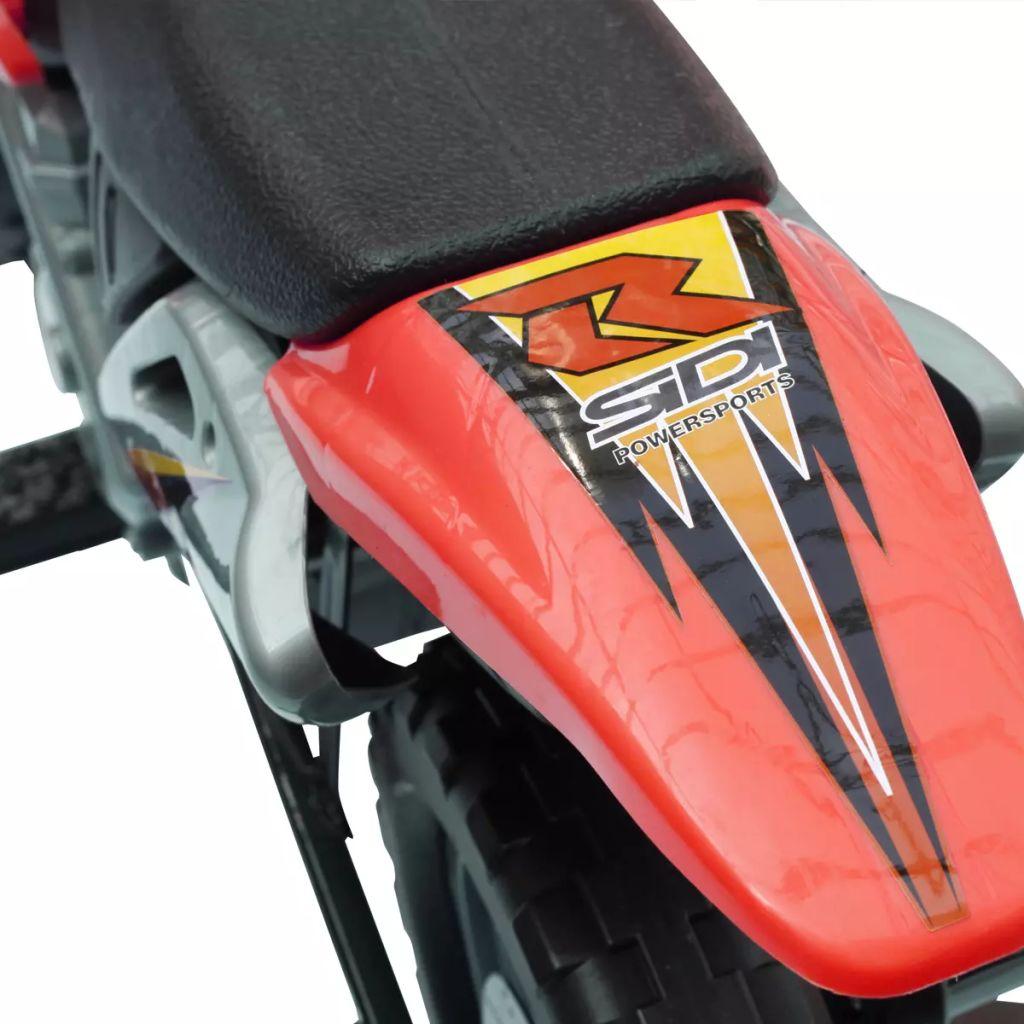 nema potrebe da uklonite bateriju. Motocikl ima stabilnu i otpornu na udarce izgradnju zboh čelične osovine. Preporučuje se korištenje vozila na privatnim posjedima i samo uz dozvolu vlasnika. U suprotnom bi moglo doći do nesreća i/ili ozbiljnih ozljeda.