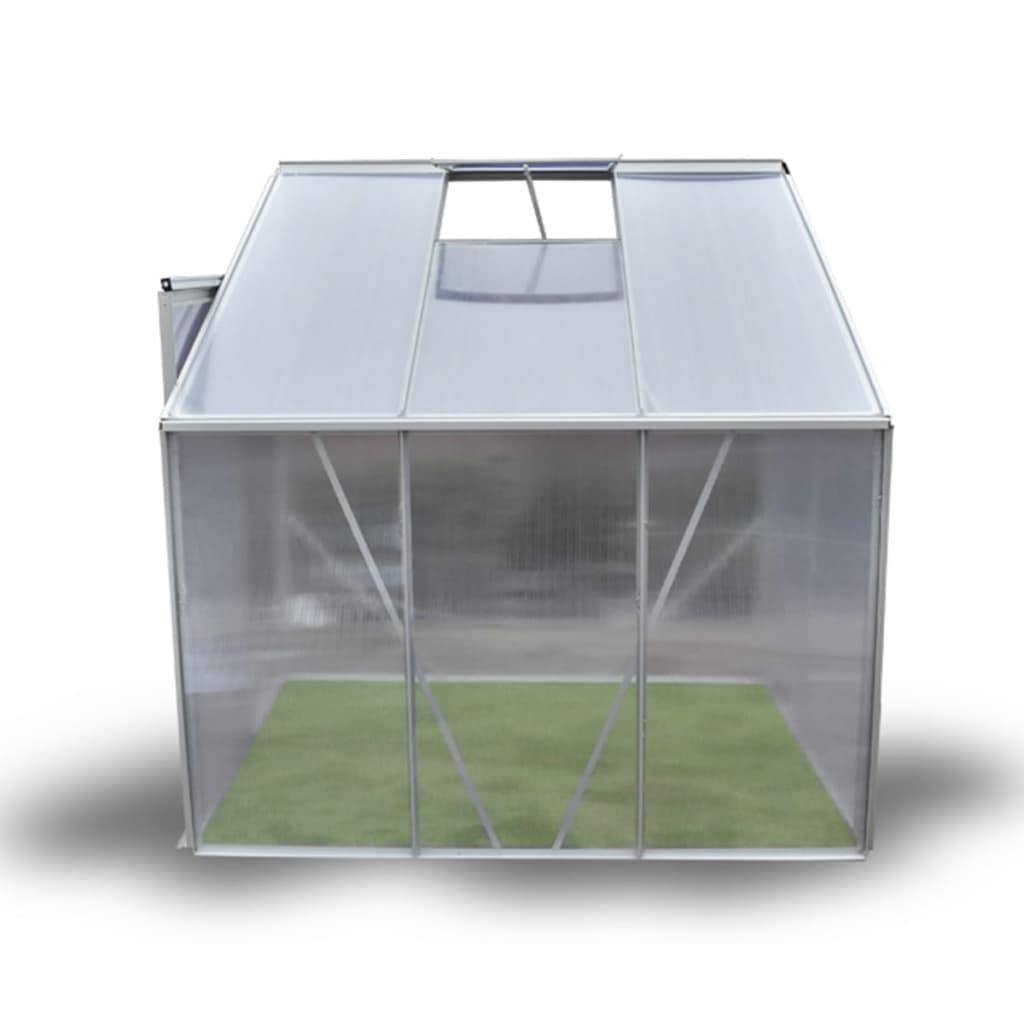 sadnica i grmlja. Ovaj staklenik ima okvir od anodiziranog aluminija i izolacionih šupljih panela. Krov i zidovi su izrađeni od ćelijskih ploča polikarbonata (PC)