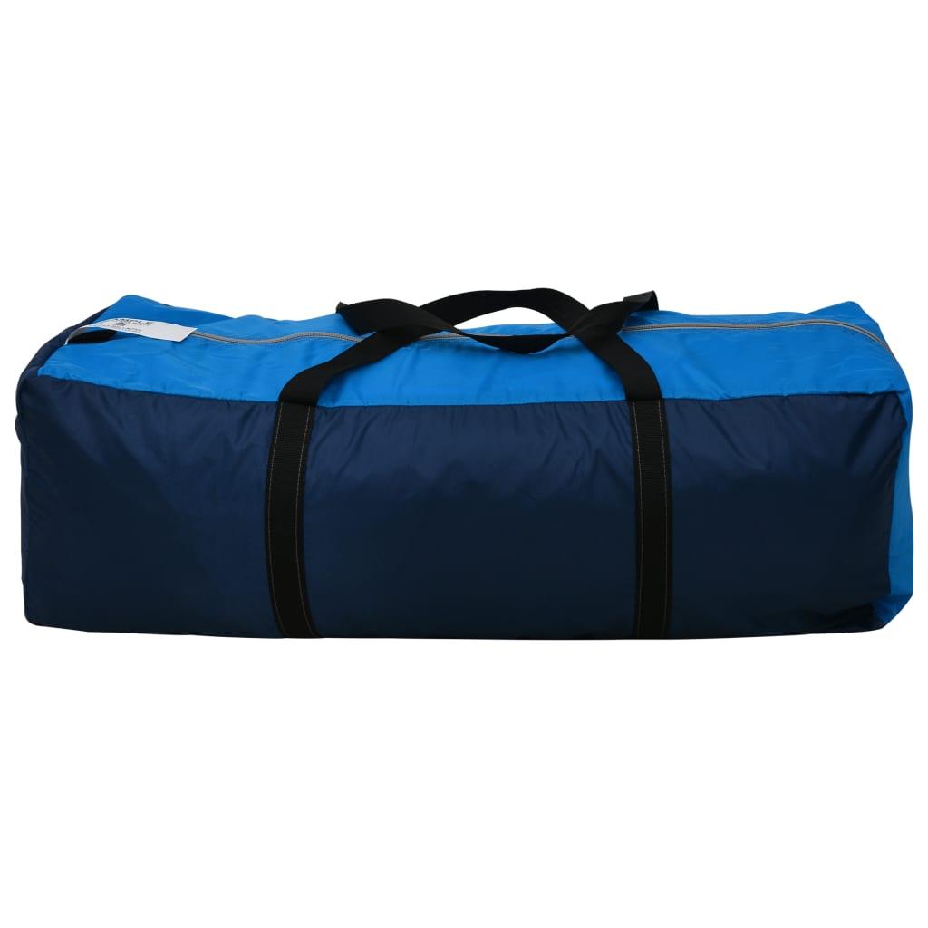kad ste na putovanje ili na odmoru u kamp. Šator nudi dovoljno prostora za smještaj 9 osoba. Ima 3 različitog odjeljka