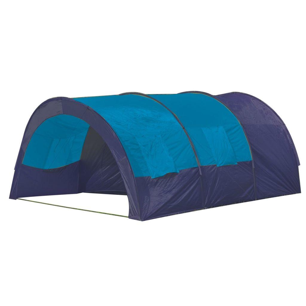 putovanja i za odmor u kampu. Ovaj šator je dovoljno velik za 6 osoba. Šator se lako postavlja i treba Vam samo nekoliko minuta da ga rastavite. Materijal unutrašnjeg zida je prozračan. Pod ima presvlaku od vodootpornog polietilena koji će Vam osigurati suh i čist boravak. Da biste dobili 100% vodonepropusne šatore